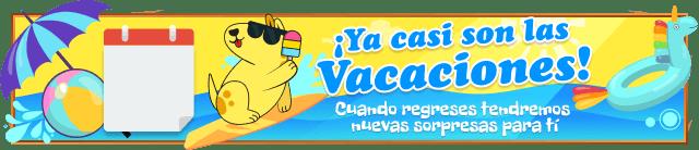 ¡Ya casi son las vacaciones!